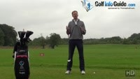 How To Feel Comfortable In Your Golf Swing Set Up Video - by Pete Styles