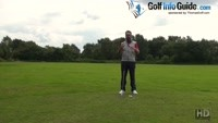 How To Hit A Golf Ball That Is Below Your Feet Video - by Peter Finch