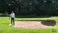 How To Hit From The Back Of A Golf Bunker Video - Lesson by PGA Pro Pete Styles