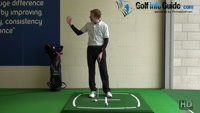 How To Keep Arms Relaxed In The Down Swing - Golf Tip Video - by Pete Styles
