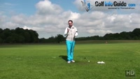 How To Play The Ball Back In Your Golf Stance Video - by Peter Finch