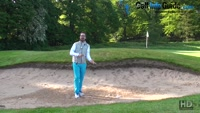 How To Play The Golf Splash Bunker Shot Video - by Peter Finch
