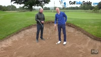 How To Play The High Bunker Shot - Video Lesson by PGA Pros Pete Styles and Matt Fryer