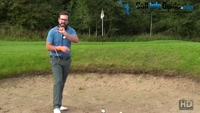 How To Slide The Club Underneath The Ball To Avoid Bunker Shank Shots Video - by Peter Finch