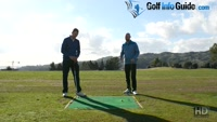 How To Stay Connected And On Plane In The Golf Backswing - Video Lesson by PGA Pros Pete Styles and Matt Fryer