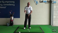 How and When to use a Fat Shot Drill to Correct and Improve a Senior Golfers Ball Strike Video - by Dean Butler