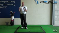 How the Target helps Determine Alignment, Trajectory, Shot Shape, Golf Video - by Dean Butler