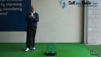 How to Create A Smooth Head Over Heel Rolling Putt Senior Golf Tip Video - by Dean Butler