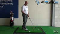How to Create Inside-To-Outside Swing Path - Senior Golf Tip Video - by Dean Butler