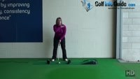 How to Create a Pendulum Putting Stroke Women Golfer Putting Tip Video - by Natalie Adams