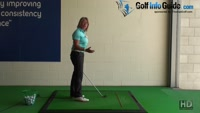 How to Create a Proper Swing Path. Golf Tip for Women Video - by Natalie Adams