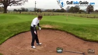 How To Escape From A Deep, Steep Sided Golf Bunker Video - by Pete Styles
