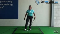 How to Get the Best Rotation Walk-Through Swing Drill - Golf Tip for Women Video - by Natalie Adams