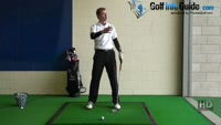 How to Hit a Golf Ball That is Above Your Feet Video - by Pete Styles