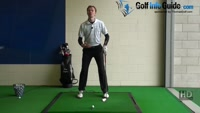 How to Hit A Golf Ball That's Below Your Feet Video - by Pete Styles