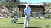 How to Hit the Ball from a Divot by Tom Stickney