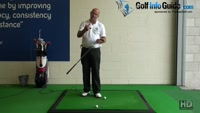 How to Play Effective Uphill Chip Shots Golf Tips for Senior Golfers Video - by Dean Butler