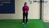 How to Plumb Bob A Putt Women Golfer Putting Tip Video - by Natalie Adams