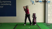 How to Rotate Your Body Without Sliding During a Golf Shot The Best Ladies Golf Tip Video - by Natalie Adams
