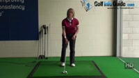 How to Fix - Fat or Thin  Chip Golf Shot Problems Video - by Natalie Adams