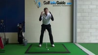 Improve Ball Striking by Keeping Eyes Level - Golf Swing Tip Video - by Pete Styles