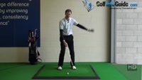 Improve Sand Shots with a Shallower Swing, Golf Video - by Pete Styles