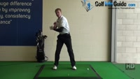 Increase power by keeping shoulders closed, Golf Video - by Pete Styles