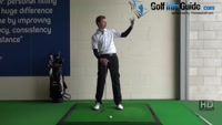 Golf Drill Tips: Irons flying too high - Ball too far forward Video - by Pete Styles