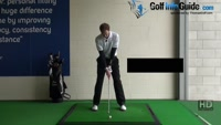 Golf Drill Tip: Irons flying too high - Hands too far back Video - by Pete Styles