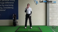 Golf Drill Tip: Irons flying too high - Hitting too hard Video - by Pete Styles