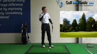 Golf Drill Tip: Irons flying too low - Ball too far back Video - by Pete Styles