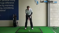 Golf Drill Tip: Irons flying too low - Weight too much on the front side Video - by Pete Styles