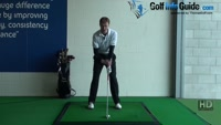 Keep the shaft and left arm in line for a wide takeaway, Golf Video - by Pete Styles