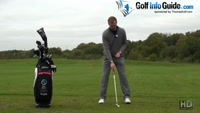 Knee Bend In The Golf Swing Helps Correct A Reverse Pivot Video - by Pete Styles