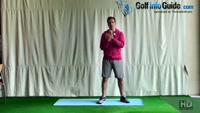 Knee Hugs Golf Strikes Video - by Peter Finch
