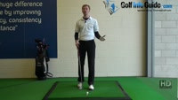 Knock it close with three quarter wedge golf shot Video - by Pete Styles