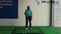 Ladies Golf Tip Step Through with Right Foot to Keep Left Side Stable Video - by Natalie Adams