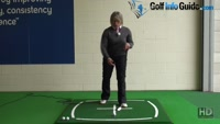 Ladies Hybrid Golf Clubs - Ball Position Video - by Peter Finch