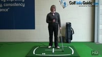 Lean Shaft Forward For Best Iron Shots, Ladies Golf Tip Video - by Natalie Adams