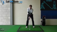 Left Handed Golf Tip: Mechanics of a Connected Golf Swing Video
