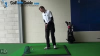 Left Handed Golf Tip: Simple Drill to Fix Your Slice Video