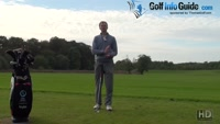 Left Heel Lifts In Golf Backswing Video - Lesson by PGA Pro Pete Styles