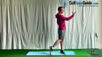 Leg Extension Golf Balance Exercise Video - by Peter Finch