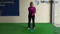 Look at your Putt go Past the Hole for Feedback on The Come Back Putt Ladies Putting Tip Video - by Natalie Adams