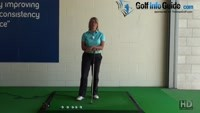 Low Ball Flight Fix Hit Down to Fly the Golf Ball High, Women Golfer Tip Video - by Natalie Adams