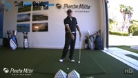 Lower Body Swing Bump vs Spin Lesson by PGA Pro Tom Stickney