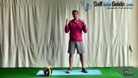 Lunge With Overhead Press Power Golf Move Video - by Peter Finch