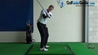 Swing Golf Plane Drill 3 Maintain spine angle Javlin through head Video - by Pete Styles