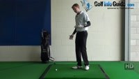 Thin Golf Shot Drill 5: Maintain spine angle face on to mirror Video - by Pete Styles