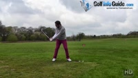 Maintaining The Wrist Set During The Golf Downswing Video - by Peter Finch